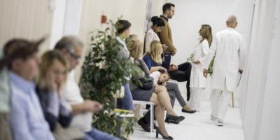 Wartezimmer in einem Krankenhaus