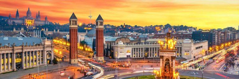 Fira de Barcelona, Plaça d'espanya