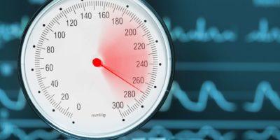 Medizinisches Konzept der Bluthochdruckdiagnostik.