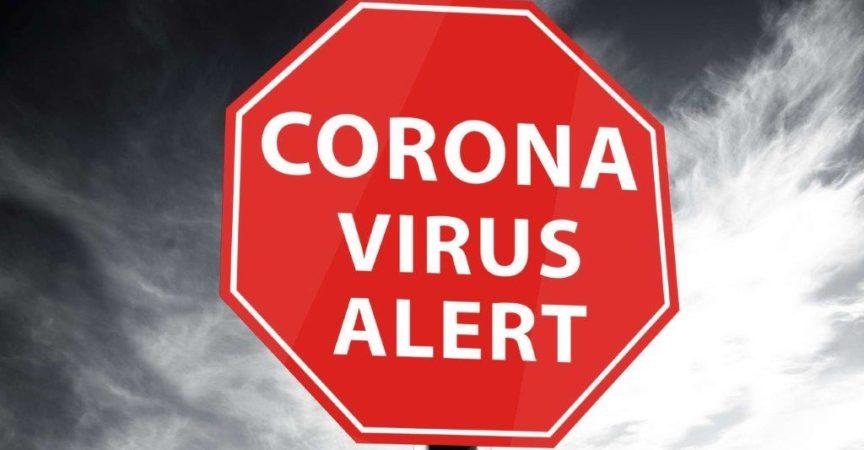 Coronavirus Warnung