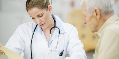 Betrachten eines Patientendiagramms