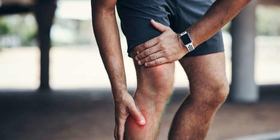 Schmerz im Unterschenkel
