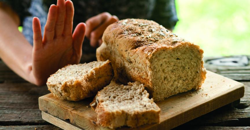 Kein Brot, danke: glutenfreies Konzept