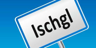 Österreichisches Stadtzeichen von Ischgl
