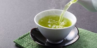 Dies ist ein Foto von japanischem grünem Tee