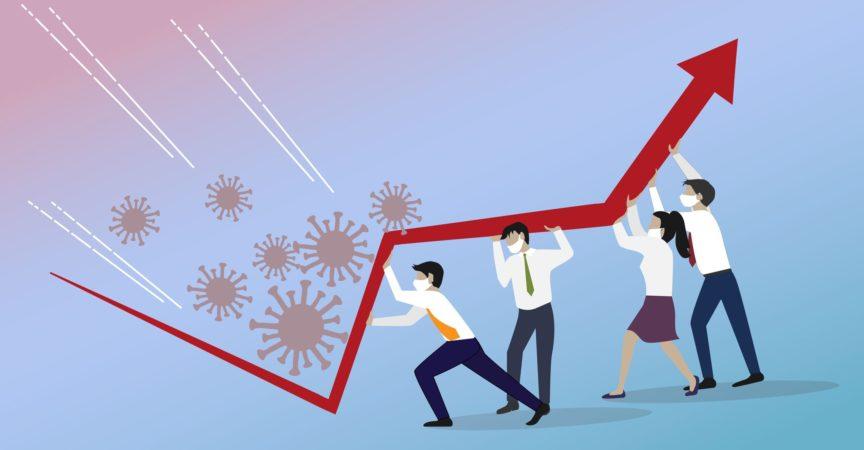 Krisenmanagement, Teamwork-Konzept.