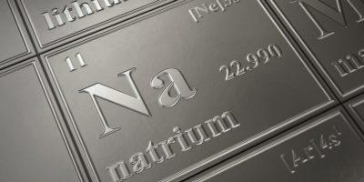 Natrium im Periodensystem der Elemente