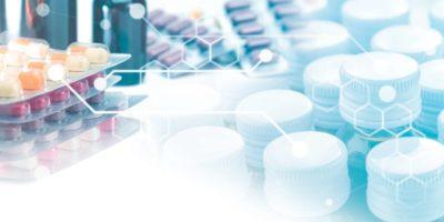 Hintergrund des medizinischen und Gesundheitskonzepts, Flaschen Sirupmedizin, Tablettentabletten und Beziehungsgrafik