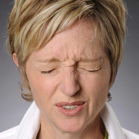 Stress und Kopfschmerzen.