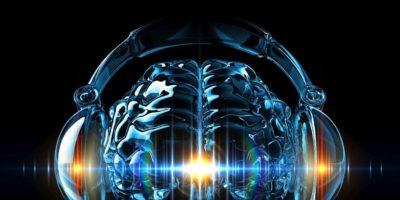 Musikkonzept. 3D-Rendering