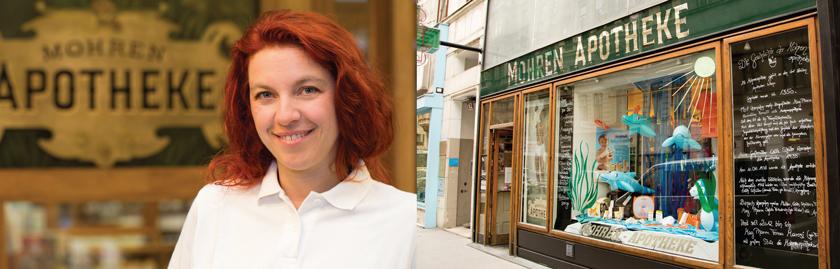 In der drittältesten Apotheke Wiens werden koschere NEM hergestellt, die jüdische ebenso wie muslimische Kunden schätzen.