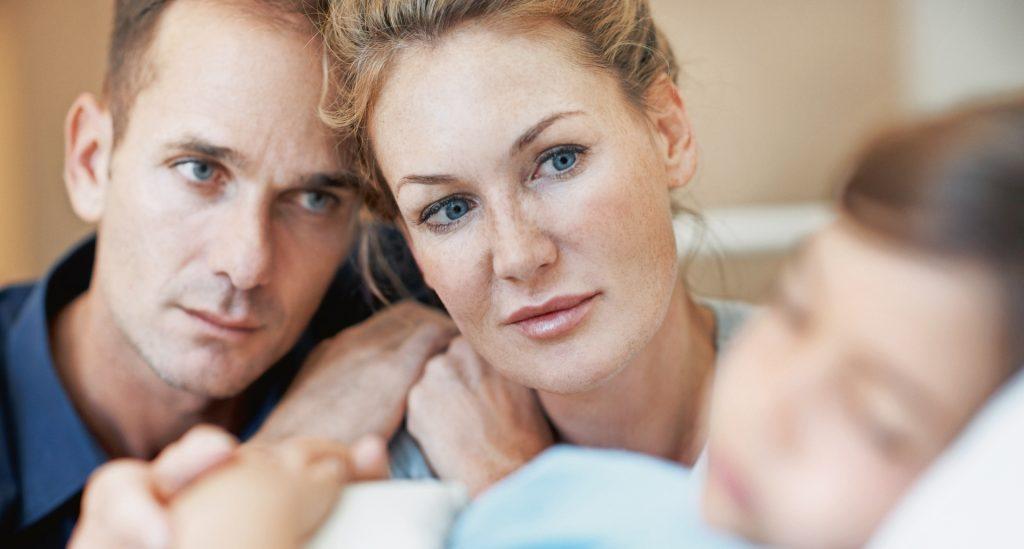 """Die Diagnose """"neuronale Ceroidlipofuszinose"""" stellt auch für die Angehörigen eine große Belastung dar."""