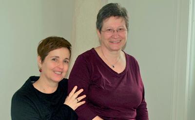 Arbeiten Seite an Seite: Psychotherapeutin Rahel Jahoda (li.) und Fachärztin Dr. Theresia Tilley.