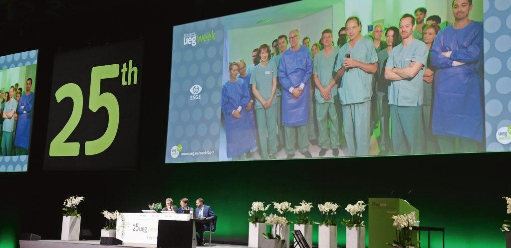 Die United European Gastroenterology Week ging 2017 schon zum 25. Mal erfolgreich über die Bühne.