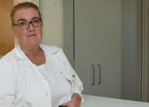 """Dr. Susanne Kargl-Gruber, Arbeitsmedizinerin und Hygienebeauftragte im LKH Hollabrunn: """"Ich bin sehr zufrieden mit meiner Lebenssituation, möchte daher etwas zurückgeben."""""""