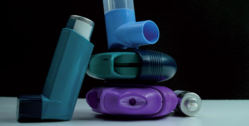 Die Wahl eines geeigneten Inhalators entscheidet über den Therapie-Erfolg mit.