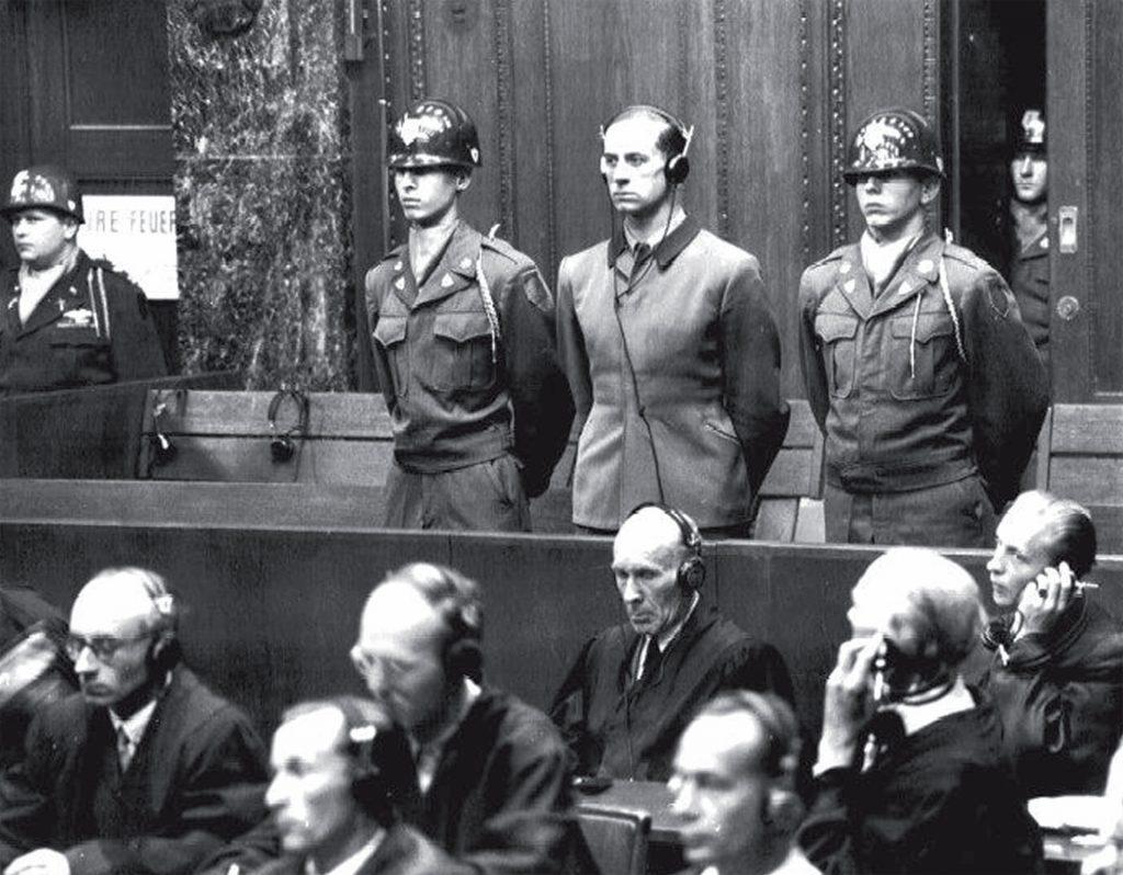 Hitlers Leibarzt Karl Brandt (Foto) wurde zum Tod verurteilt und am 2. Juni 1948 hingerichtet.