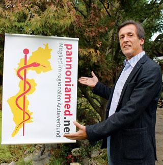 Dr. Herbert Cerny leitet das Referat für Pannoniamed.net in der burgenländischen Ärztekammer.