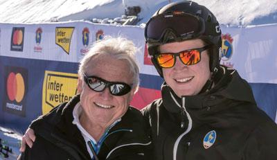 Dr. Obermoser senior und junior sind selbst begeisterte Skifahrer.