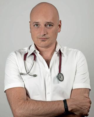 Dr. Marton Széll arbeitet als Infektiologe und Tropenmediziner in Wien.