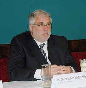 Präsident Dr. Christoph Reisner.