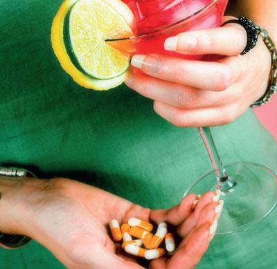 Manchmal ist Alkohol in jeglicher Form streng tabu, in anderen Fällen sind gelegentlich moderate Mengen erlaubt.
