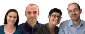 Mag. pharm. Ute Karner, Mag. pharm. Stefan Deib, Mag. pharm. Monika Wolfram, Dr. Berhard Ertl