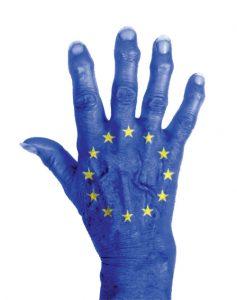Hand, Europa