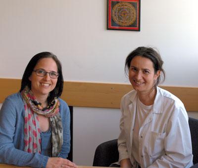 Diätologin Cornelia Romstorfer-Bauer und Dr. Andrea Bachl arbeiten zwar zusammen, jedoch wirtschaftlich voneinander unabhängig.