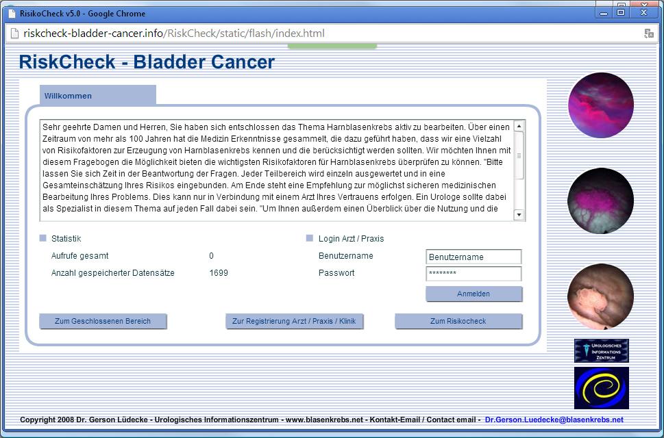RisikoCheck Blasenkrebs
