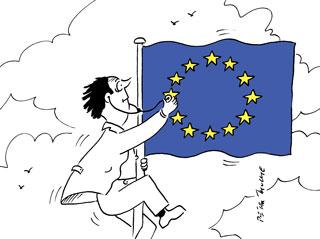 cartoon_Europaflagge