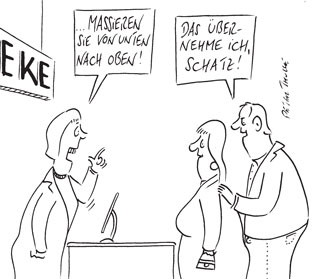cartoon_massieren