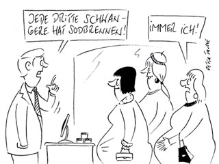 cartoon_schwanger