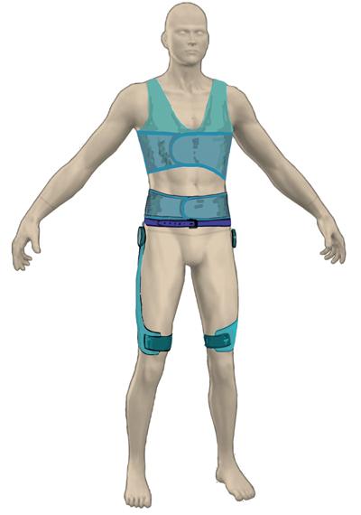 In Rahmen eines EU-Projekts wird an der Entwicklung eines Exoskeletts für die Wirbelsäule gearbeitet, das den Rücken unterstützen soll.