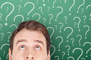 Fragen zeigen oft am besten, ob ein Gespräch verstanden wurde.