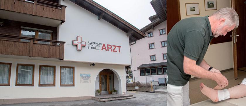 Dr. Edgar Wutscher hat durchgesetzt, dass Patienten mit chronischen Wunden in seiner Ordination in Sölden versorgt werden können.