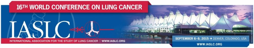 16th World Conference on Lung Cancer (WCLC) hosted by the International Association of the Study of Lung Cancer (IASLC)