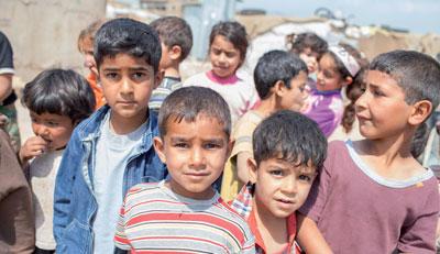 Kinder aus Syrien: Sie waren vor der Flucht relativ gut versorgt, im Gegensatz zu Flüchtlingen aus z.B. Afghanistan oder Somalia.