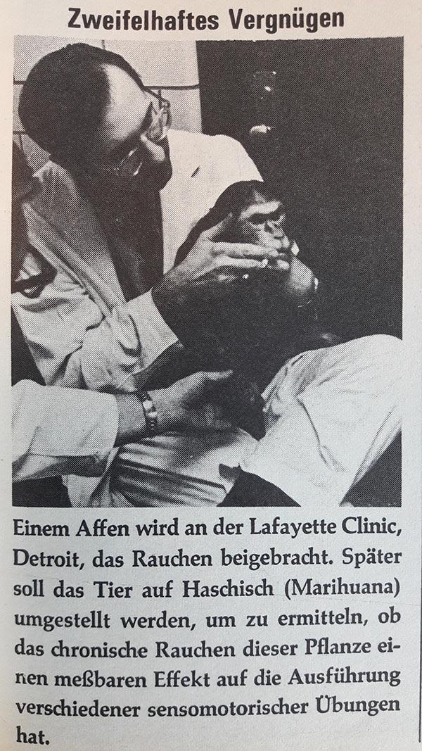 MT50: Rätselhafte Tierexperimente in den Sechzigern