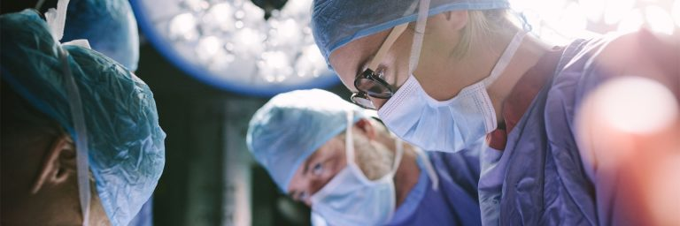 Operation, Thoraxchirurgie, minimal invasiver Aortenklappenersatz