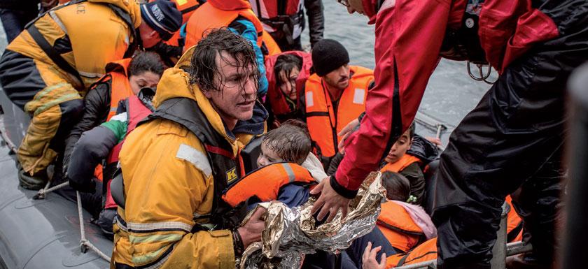 2015 startete Ärzte ohne Grenzen erstmals einen Einsatz mit Rettungsschiffen im Mittelmeer.