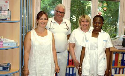 Das Team von Dr. Günter Sokol im Gesundheitszentrum Hetzendorf betreut zum Großteil Patienten mit Diabetes.