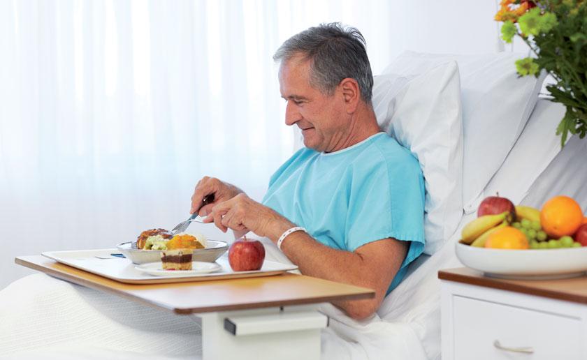 Am nutritionDay 2014 haben nur 41 Prozent der befragten Patienten das gesamte Mittagessen konsumiert, 14 Prozent ließen gar drei Viertel über.