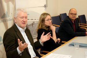 Univ.-Prof. Dr. Gerhard Schüßler, Univ.-Prof. Dr. Astrid Lampe, Dr. Thomas Beck